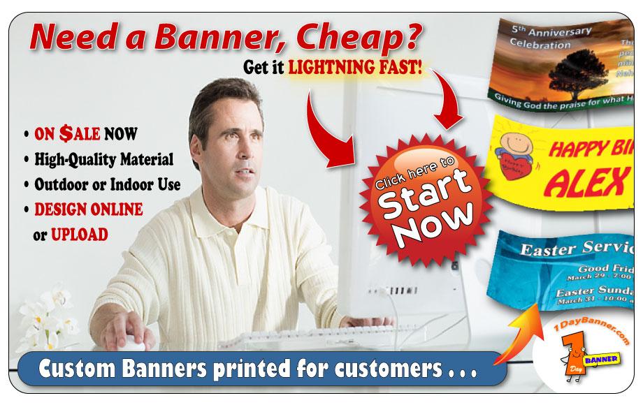 Cheap Banners